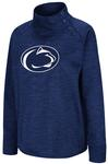 Penn State Women's Marled Snap Crew