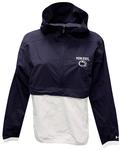 Penn State Under Armour Women's Crinkle Anorak Jacket NAVYWHITE