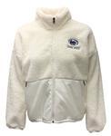 Penn State Under Armour Women's Mammoth Full Zip Jacket WHITE