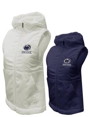 UNDER ARMOUR - Penn State Under Armour Women's Mammoth Fleece Vest