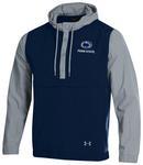 Penn State Under Armour Crinkle Anorak Jacket NAVYSTEEL GREY