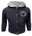 Penn State Infant Girl's Muppet Reversible Jacket HEATHER GREY