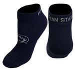 Penn State Low Cut Stripe Adult Sock NAVY