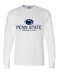 Penn State Adult Wrestling Long Sleeve WHITE