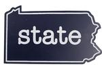 Penn State Acrylic State Magnet