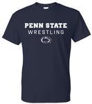 Penn State 2019-20 Wrestling Schedule T-Shirt NAVY