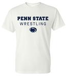 Penn State 2019-20 Wrestling Schedule T-Shirt WHITE
