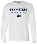 Penn State 2019-20 Wrestling Schedule Long Sleeve WHITE