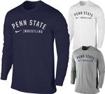 Penn State Nike Men's Wrestling Long Sleeve T-Shirt
