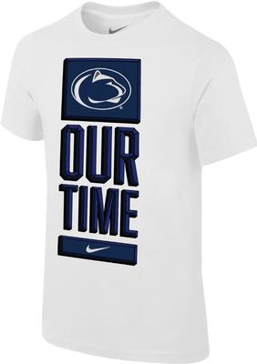NIKE - Penn State Nike Men's Dri-Fit Basketball Bench T-Shirt