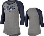 Penn State Nike Women's 3/4 Raglan T-Shirt