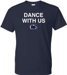 Penn State Dance With Us T-Shirt NAVY