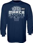Penn State Adult March Madness 2020 Long Sleeve NAVY