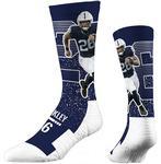 Penn State Saquon Barkley Crew Socks