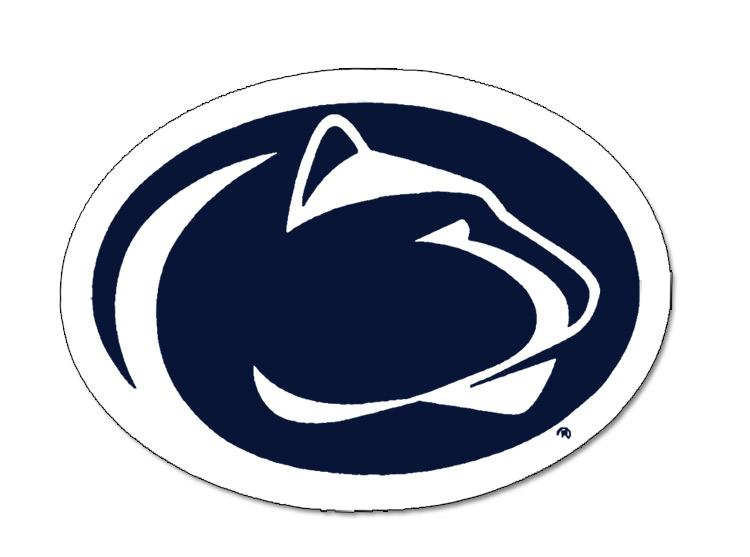 Penn State Nittany Lion Logo 8 Quot Magnet Souvenirs Gt Home
