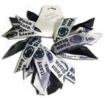 Penn State Pinwheel Ribbon Pony Tail Holder