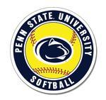 Penn State University Softball Magnet