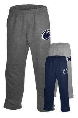 The Family Clothesline - Penn State Logo Open Bottom Adult Sweatpants