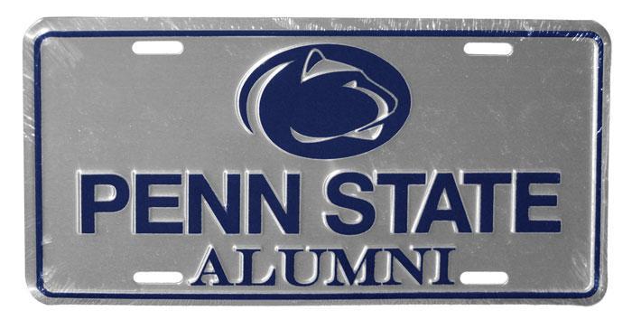 Penn State Logo Alumni License Plate Souvenirs Gt Car