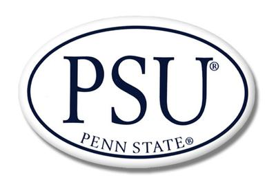 Prism Promotions - Penn State PSU Oval Magnet