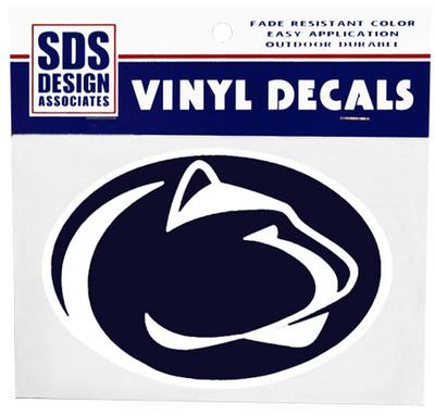Decal 6 Quot Psu Logo Print Souvenirs Gt Stickers And Decals