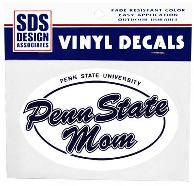 Decal 6 Quot Euro Psu Mom Print Souvenirs Gt Stickers And