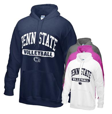 The Family Clothesline - Penn State Volleyball Hood Adult Sweatshirt