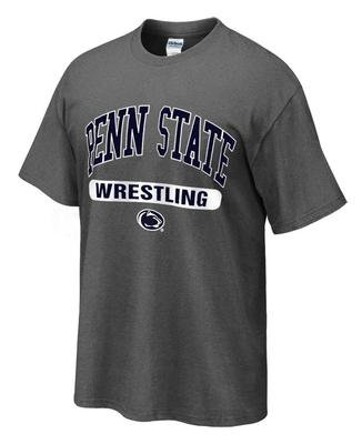 Penn State Tshirt with Wrestling Oval Print DHTHR
