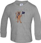 Penn State Toddler Long Sleeve Tshirt HTHR
