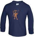 Penn State Toddler Long Sleeve Tshirt NAVY
