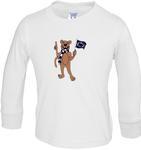 Penn State Toddler Long Sleeve Tshirt WHITE