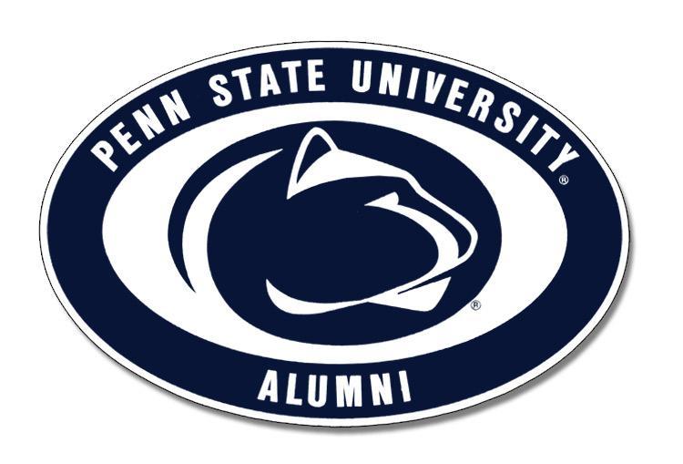 "Penn State Alumni 6"" Magnet   Souvenirs > HOME > MAGNETS"