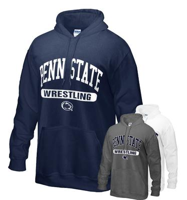 The Family Clothesline - Penn State Wrestling Oval Hooded Sweatshirt