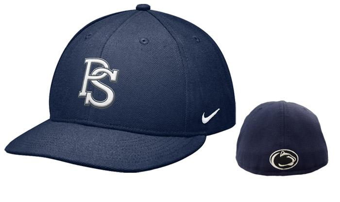 penn state nike fitted baseball hat headwear gt hats gt fitted