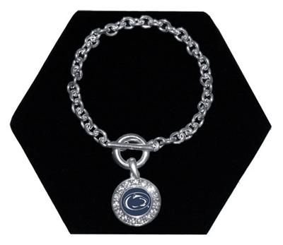 From The Heart - Penn State Chain Link Bracelet