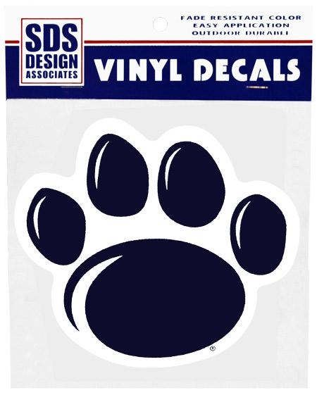 Penn State 6 Quot New Paw Decal Souvenirs Gt Stickers And