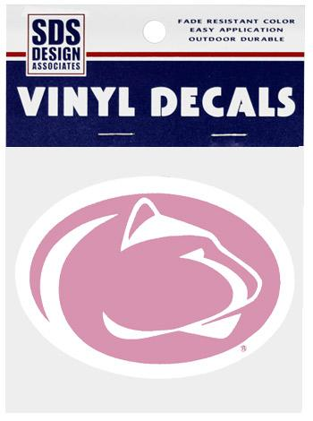 Penn State Pink 3 Quot Logo Decal Souvenirs Gt Stickers And