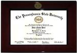 Penn State University Cordova Diploma Frame