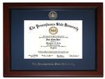 Penn State University Embossed Diploma Frame
