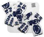 Penn State Toddler Logo Bows