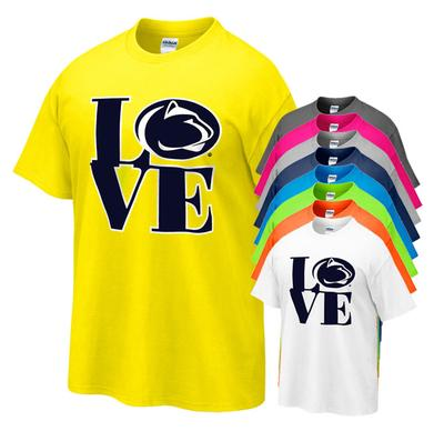 The Family Clothesline - Penn State Love Logo Youth T-shirt