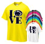 Penn State Love Logo Youth T- Shirt