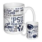 Penn State College All Over Spirit Mug
