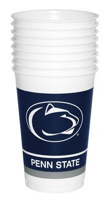 Stockdale - Penn State 8 Pack Plastic Cups