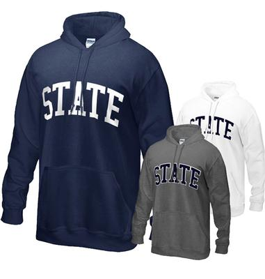 The Family Clothesline - Penn State Adult Hooded STATE Sweatshirt