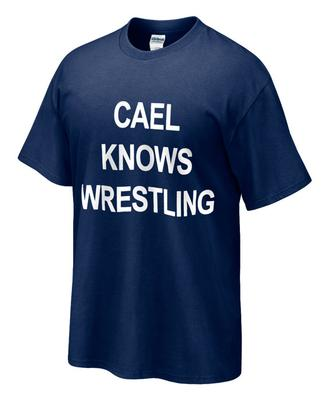 The Family Clothesline - Cael Knows Wrestling T-Shirt