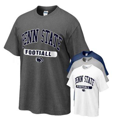 The Family Clothesline - Penn State T-shirt with Football Oval Print