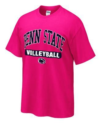 9e3ec158cb ... Penn State Volleyball Adult Sport T-Shirt HPINK ...