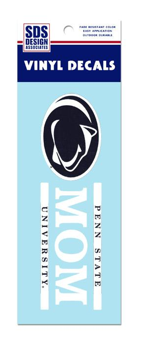 Penn State Mom Stripe Decal Souvenirs Gt Stickers And