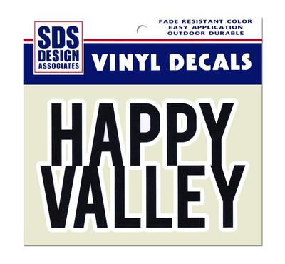 SDS Design - Block Happy Valley Decal